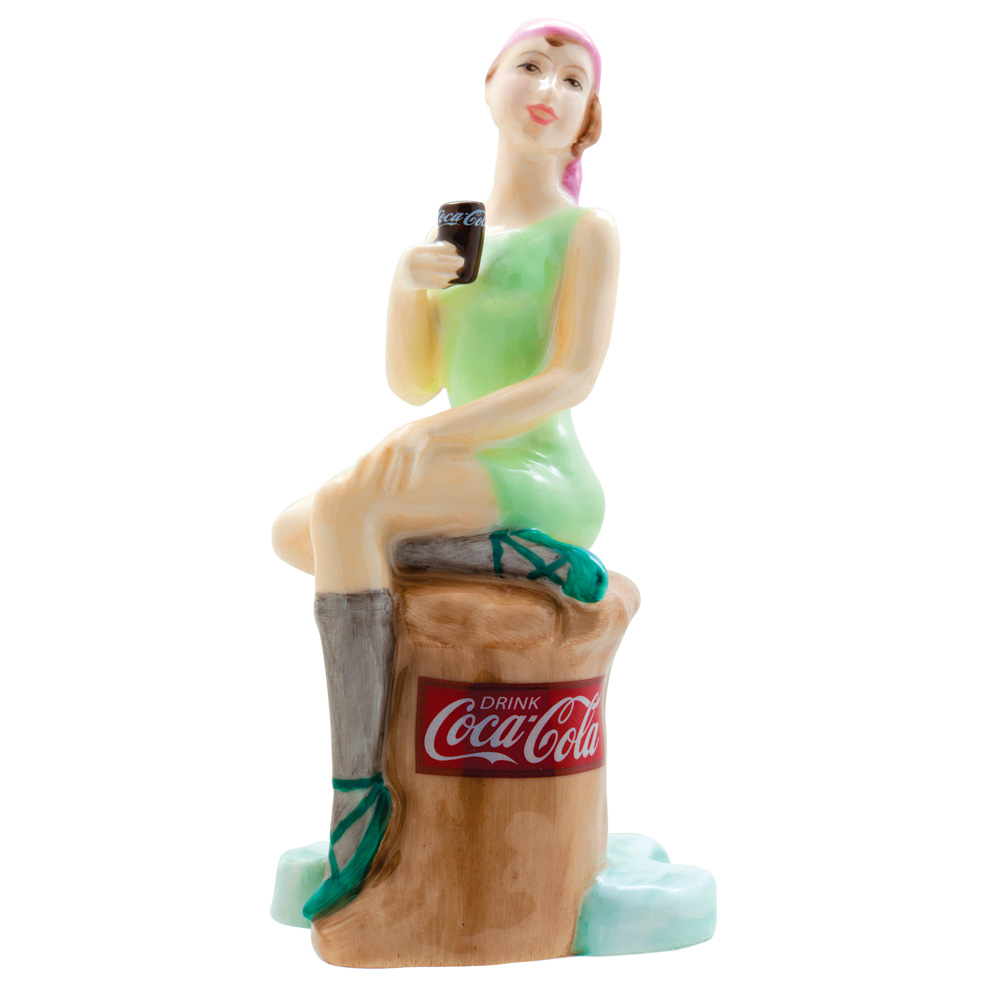 Coca Cola Bathing Belle MCL14 - Royal Doulton Advertising Character