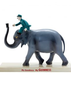 Guinness Elephant and Keeper - Royal Doulton Advertising Character