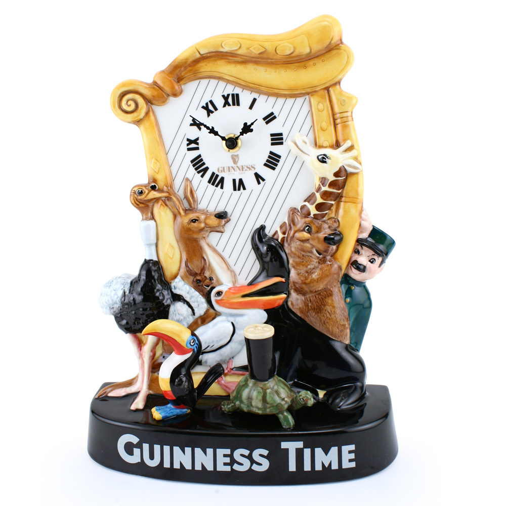 Guinness Anniversary Clock MCL26 - Royal Doulton Advertising Character