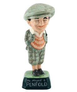 Penfold Golfer MCL1 - Royal Doulton Advertising Character