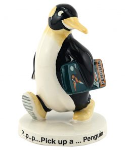 Pick Up A Penguin MCL5 - Royal Doulton Advertising Character