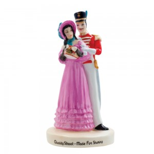 Quality Street Couple MCL13 - Royal Doulton Advertising Character