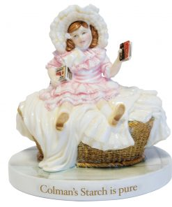 Colman's Starch Girl by Millennium Collectables - Royal Doulton Advertising Character