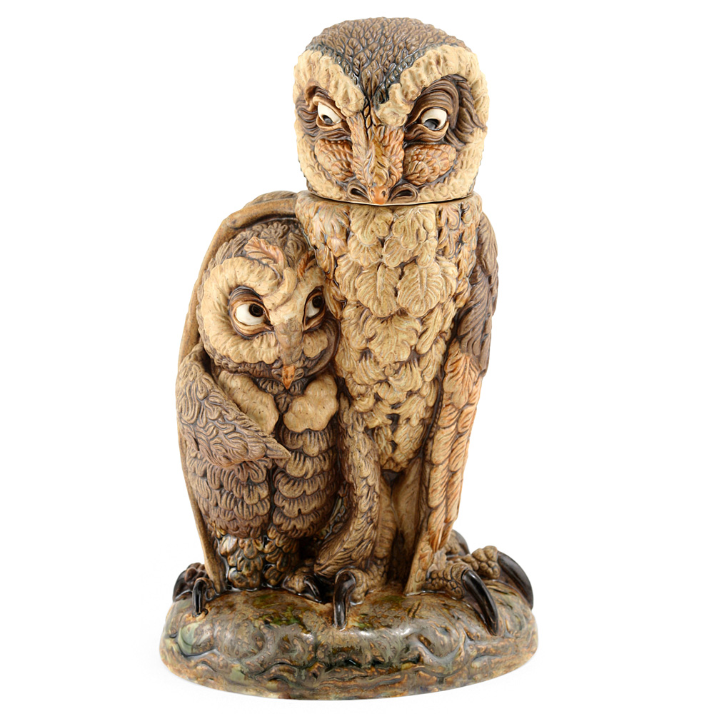 Owl Watch - Andrew Hull Pottery