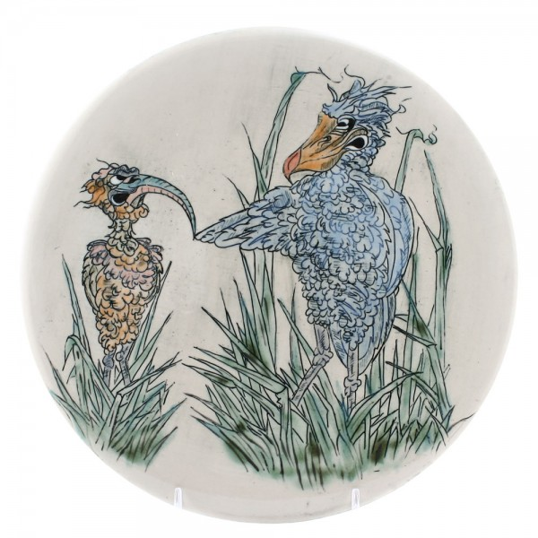 Plaque Bird - Andrew Hull Pottery