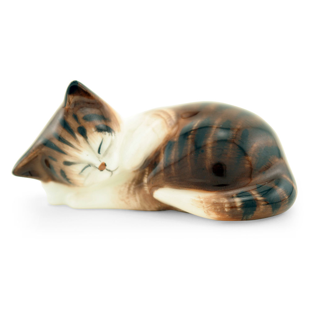 Character Kitten Sleeping HN2581 - Royal Doulton Animals