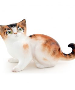 Character Kitten Looking Up HN2584 - Royal Doulton Animals