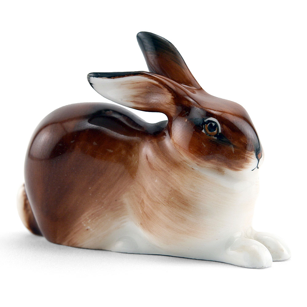 Hare Crouching K37 - Royal Doulton Animals