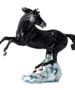 Nightfall Horse, Black HN4887 - Royal Doulton Animals