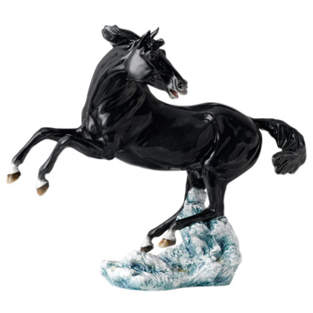 Nightfall Horse, Black HN4887 - Royal Doulton Animals