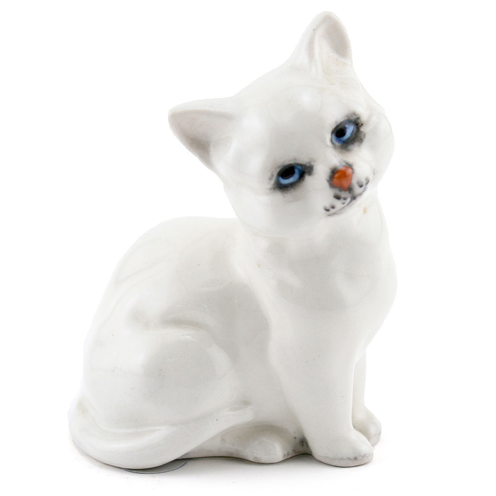 Kitten DA123 White - Royal Doulton Animals