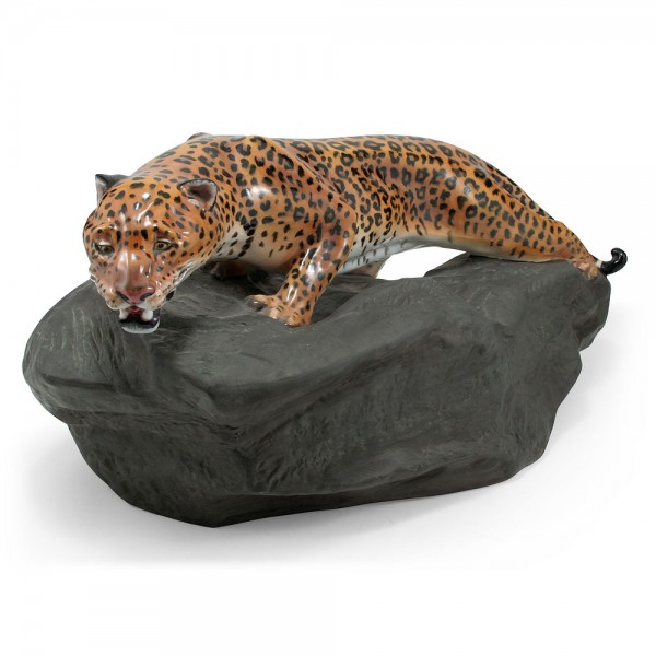 Leopard on Rock HN2638 - Royal Doulton Animals