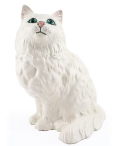 Persian Cat Seated DA126 - Royal Doulton Animals