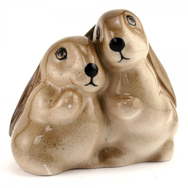 Rabbits Brown Speckled - Royal Doulton Animals