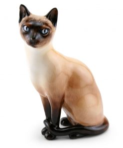 Siamese Cat HN2655 - Royal Doulton Animals