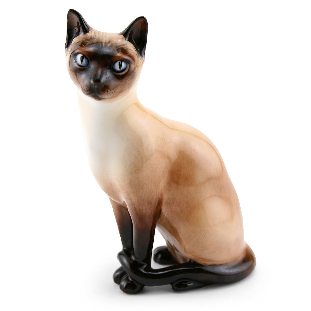 Siamese Cat HN2655 - Royal Doulton Animals