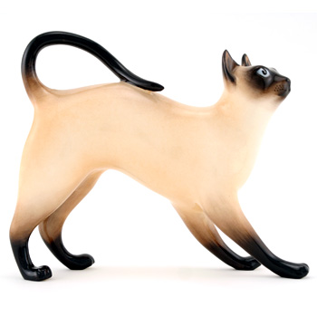 Siamese Cat Standing, Style 1 HN2660 - Royal Doulton Animals
