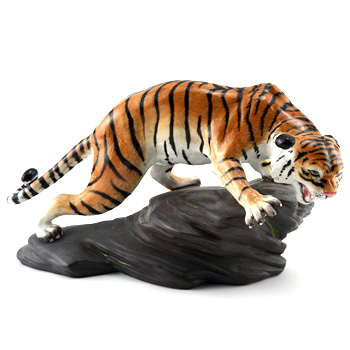 Tiger on Rock Painted HN4502 - Royal Doulton Animals