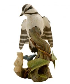Downy Woodpecker HN3509 - Royal Doulton Animals