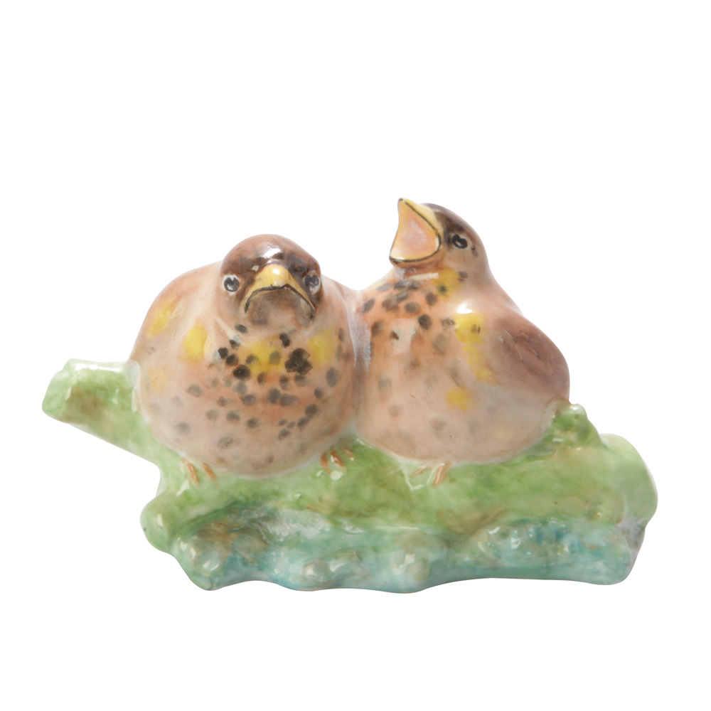 Thrush Chicks HN2552 - Royal Doulton Animal