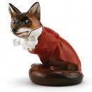 Fox in Hunting Dress HN100 - Royal Doulton Animals