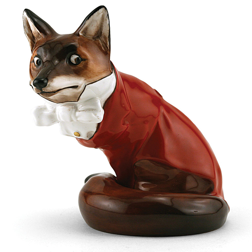 Fox in Hunting Dress HN100 - Royal Doulton Animals