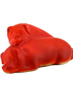 Pigs Snoozing Ears Down SM ORN - Royal Doulton Animal