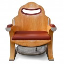Lo Squalo Leather Club Chair 2