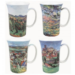 Cezanne - Set of 4 Mugs - Boxed Mug Sets