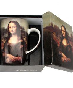"""Leonardo da Vinci """"Mona Lisa"""" - Grande Mug - Boxed Mug Sets"""