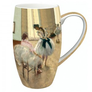 "Edgar Degas ""The Dance Lesson"" - Grande Mug - Boxed Mug Sets"
