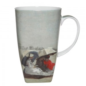 "Winslow Homer ""East Hampton Beach"" - Grande Mug - Boxed Mug Sets"