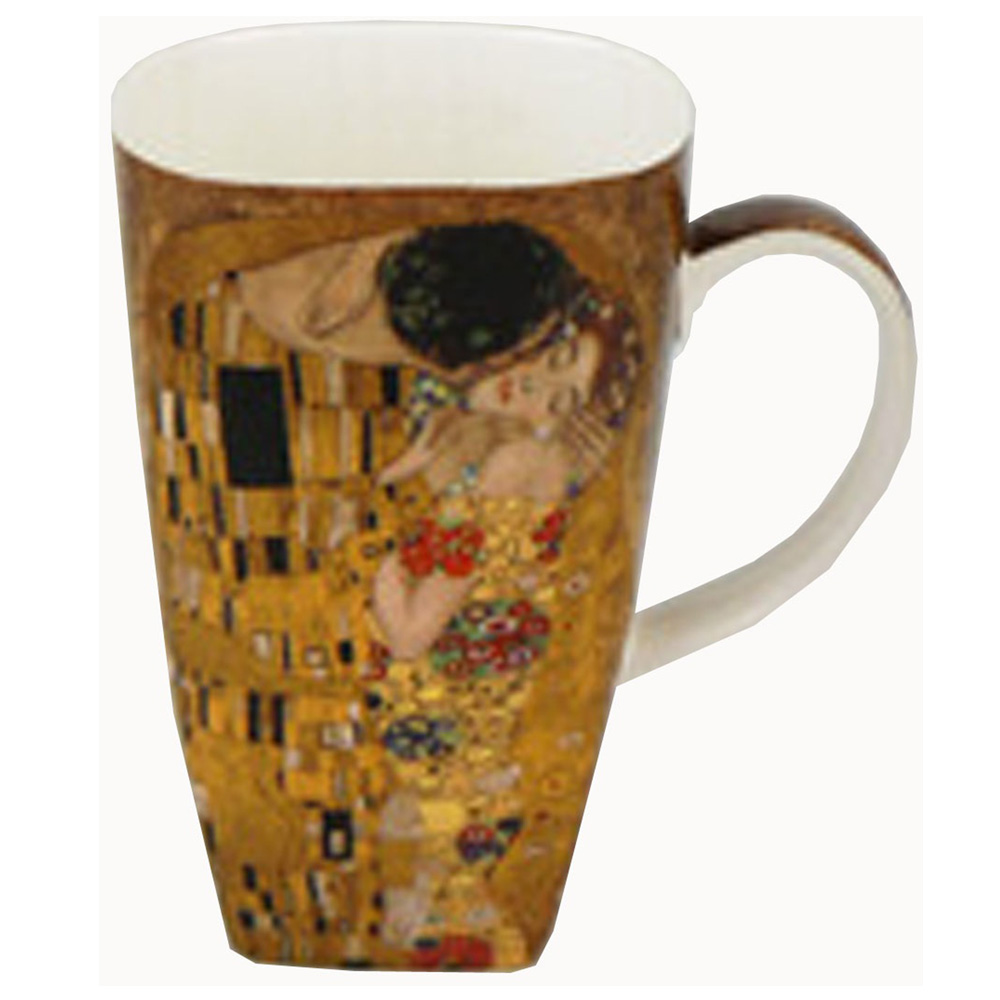 "Klimt ""The Kiss"" - Grande Mug - Boxed Mug Sets"