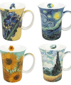 Van Gogh - Set of 4 Mugs - Boxed Mug Sets