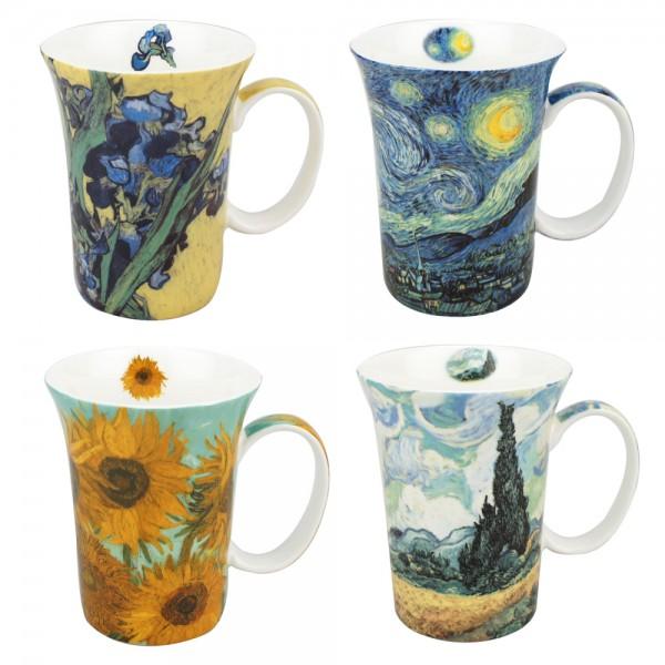 Van Gogh - Set of 4 Mugs - Boxed Mug Sets