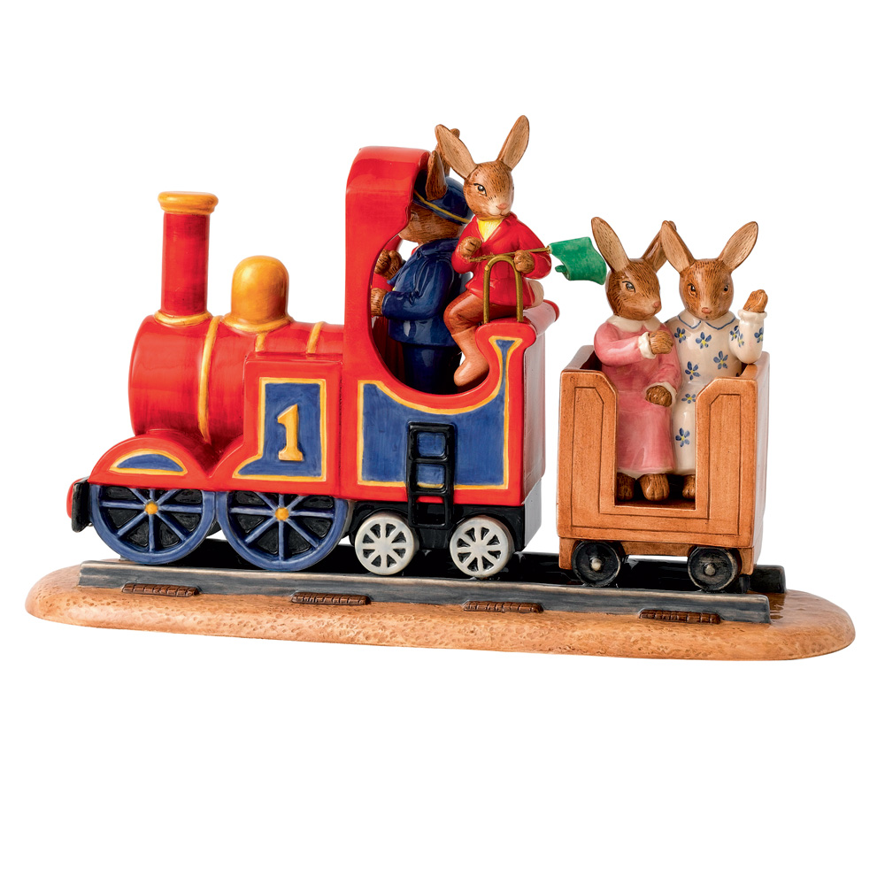 All Aboard - 2012 Tableau DB495 - Royal Doulton Bunnykins
