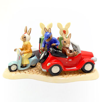 All Fueled Up DB362 - Royal Doulton Bunnykins