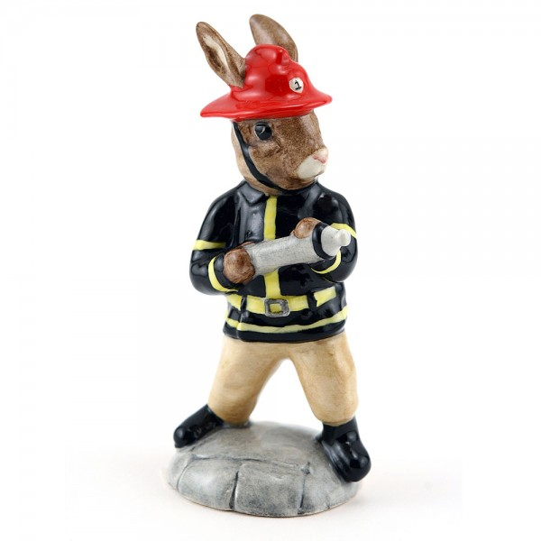 American Firefighter DB268 - Royal Doulton Bunnykins