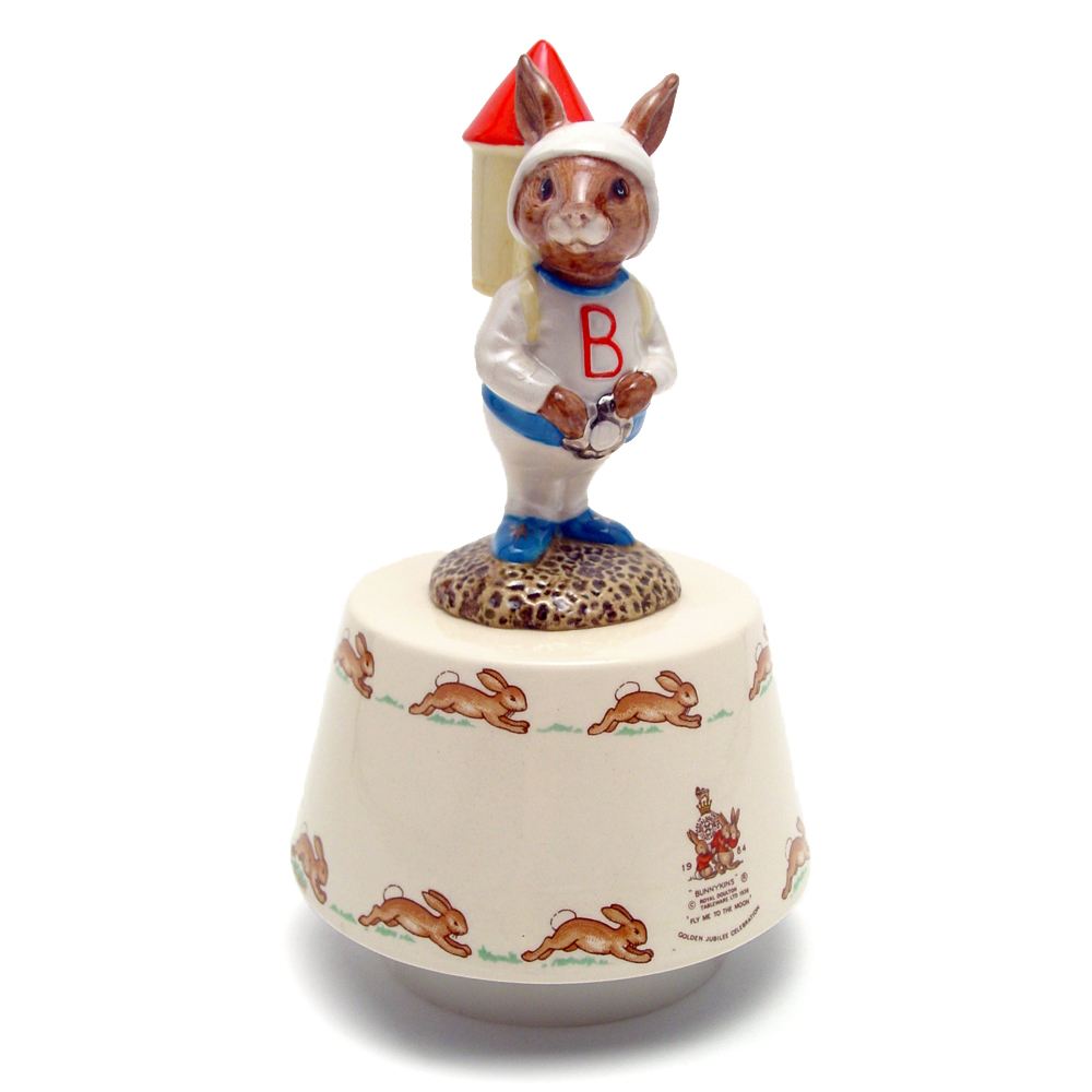 Astro Music Box DB35 - Royal Doulton Bunnykins