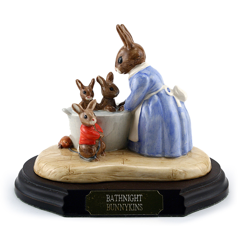 Bathnight Bunnykins Tableau DB241 - Royal Doulton Bunnykins