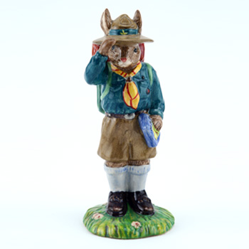 Boy Scout DB430 - Royal Doulton Bunnykins