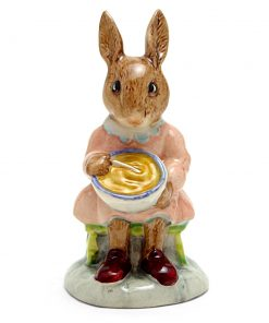 Buntie Helping Mother DB2 - Royal Doulton Bunnykins