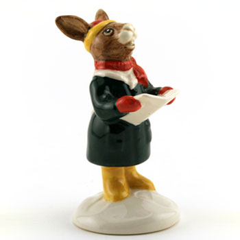 Carol Singer DB104 (UK Edition) - Royal Doulton Bunnykins