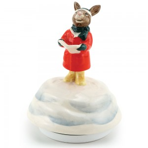 Carol Singer Music Box DB53 - Royal Doulton Bunnykins