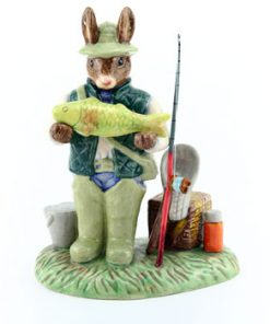 Caught a Whopper DB424 - Royal Doulton Bunnykins