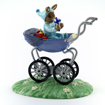Christening Boy DB328 - Royal Doulton Bunnykins