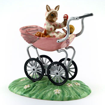Christening Girl DB327 - Royal Doulton Bunnykins