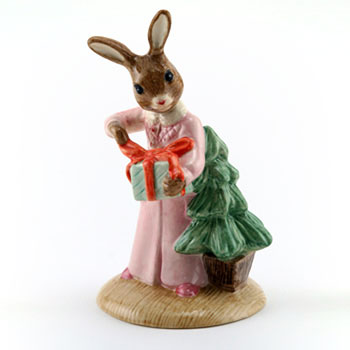 Christmas Morning DB285 - Royal Doulton Bunnykins
