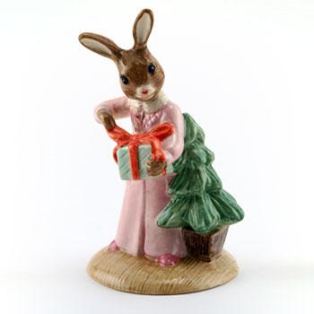 Christmas Morning DB285 - Royal Doulton Bunnykins