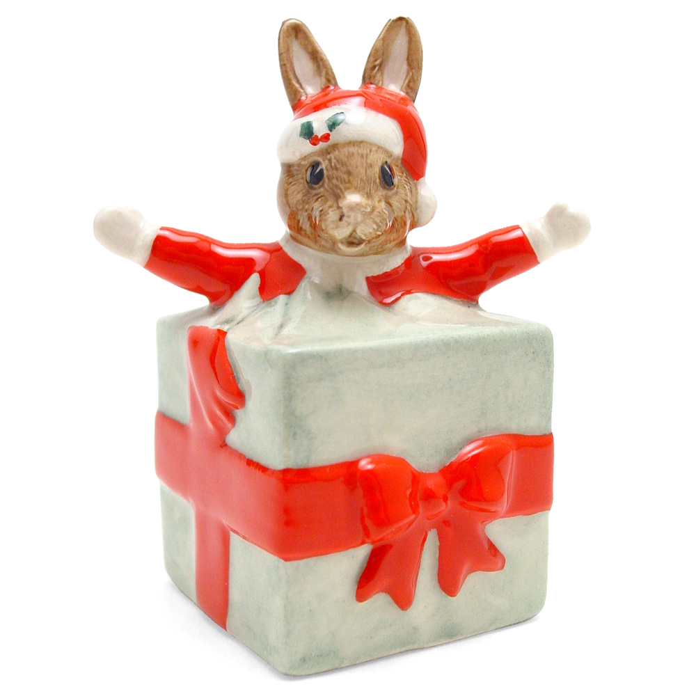 Christmas Surprise DB146 - Royal Doulton Bunnykins